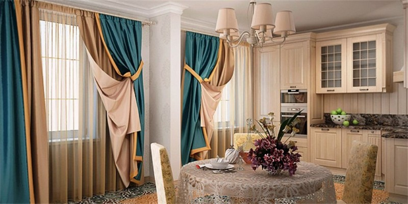 Разнообразные шторы для любого интерьера