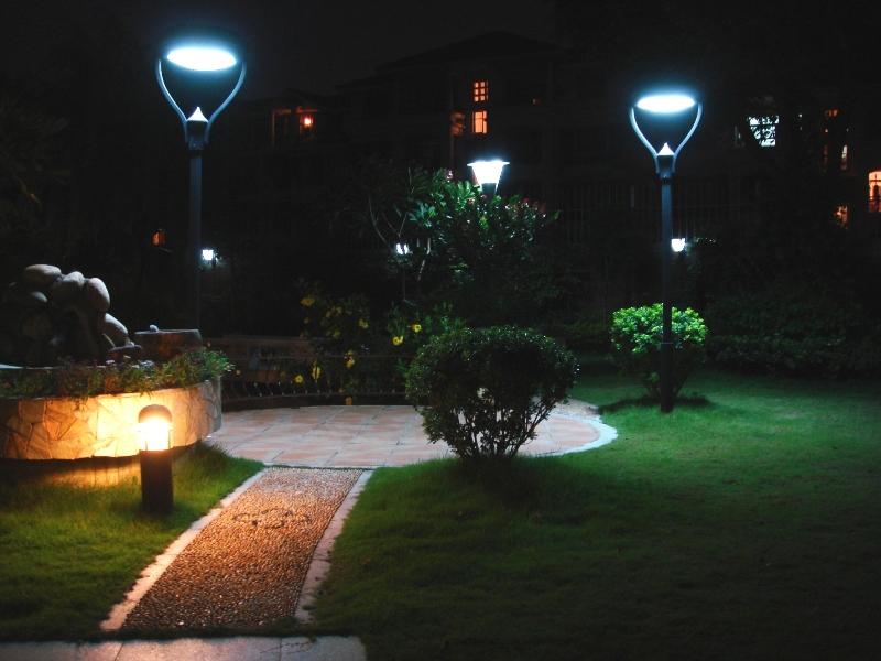 Как с умом осветить дорожки в саду?