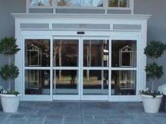 Автоматические раздвижные двери: